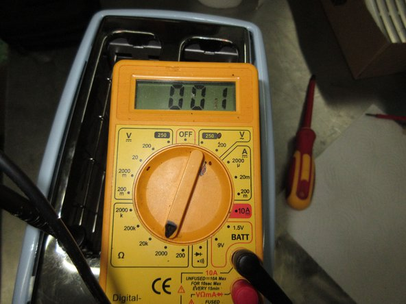 Do NOT forget to make an insulation test. Check the wiring with a multimeter.