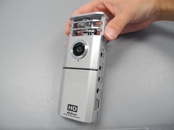 Zoom Q3HD Handy Video Recorder Lense Cleaning