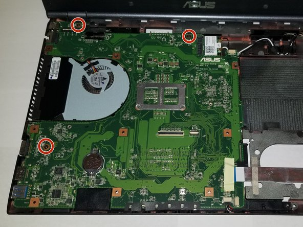 Asus U56E-BBL6 Motherboard Replacement