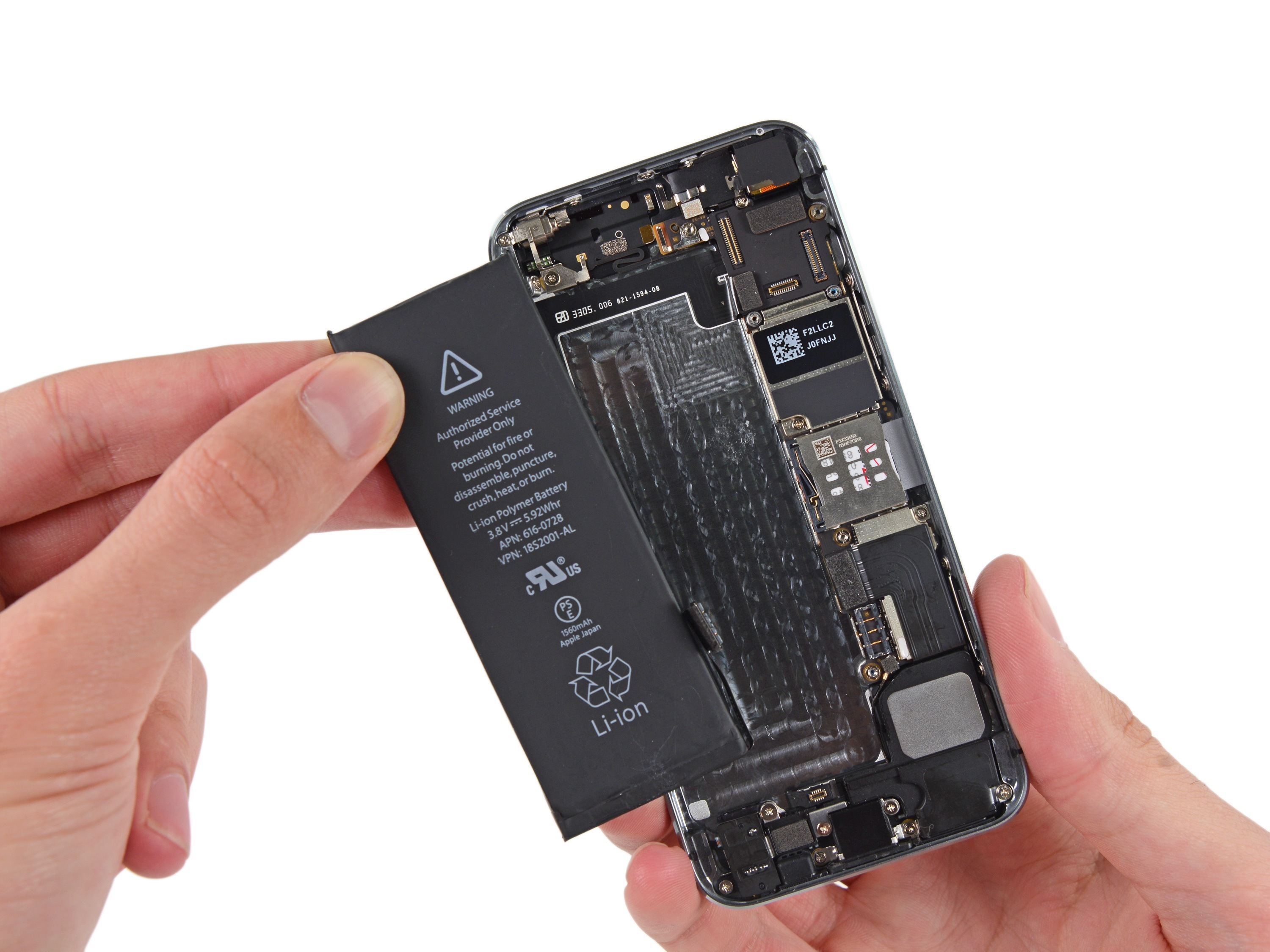 How To Replace The Battery In Your Iphone 5s Ifixit Repair Guide 3 Way Switch Wiring Diagram Basic Circuit Breaker Sizing