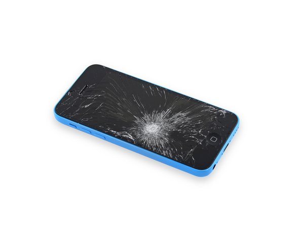 If your display glass is cracked, keep further breakage contained and prevent bodily harm during your repair by taping the glass.