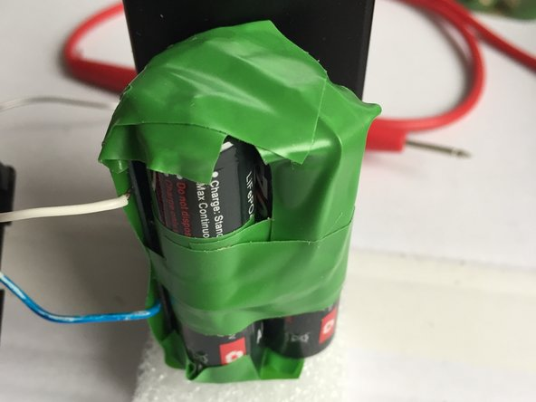 Find out how much foam you need by putting the battery pack with foam layers outside of the housing.