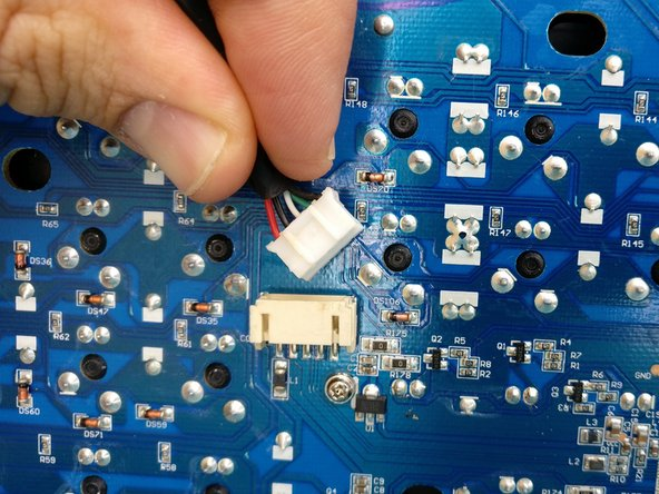 flip over the PCB and remove the USB cable. (more of an optional step but wort the effort)