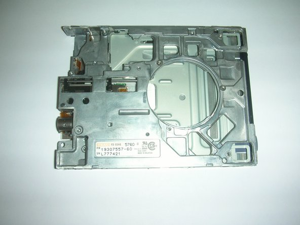 Here is an isolated image of the floppy drive casing unit.