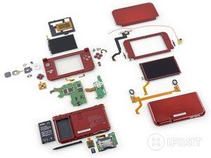 任天堂 3DS XL 2015 拆解