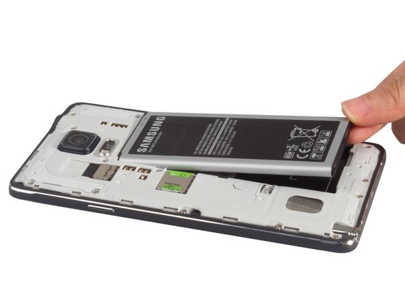 Take away the 3200mAh battery, SIM card and S Pen.