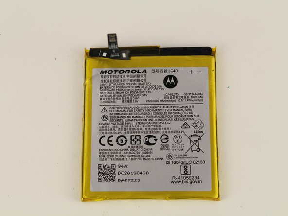 Motorola Moto G7 Play Battery Replacement