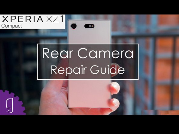Sony Xperia XZ1 Compact Back Camera Replacement