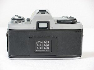 Removing Minolta X-370 Film Winding Lever