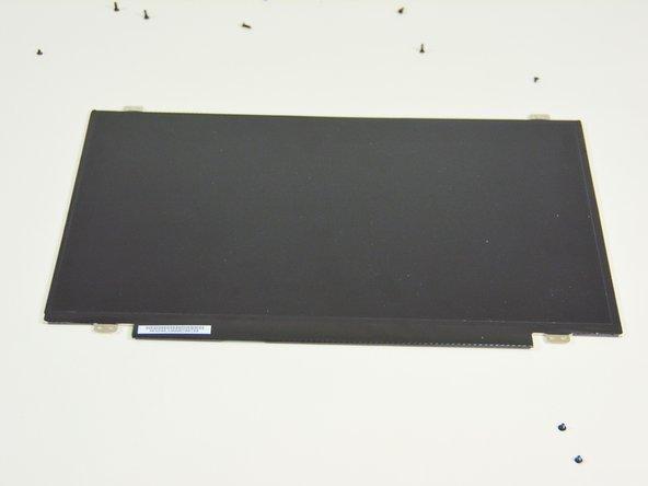 Image 2/2: Sie können nun den LCD Bildschirm auf die Arbeitsfläche ablegen.