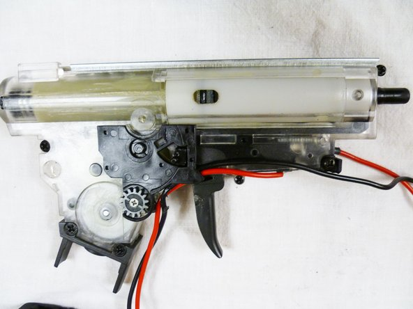 SG 552-1 Commando Gearbox Replacement