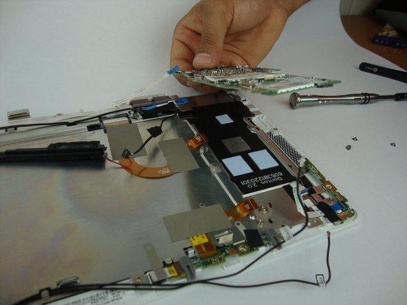 Remove the SSD card.