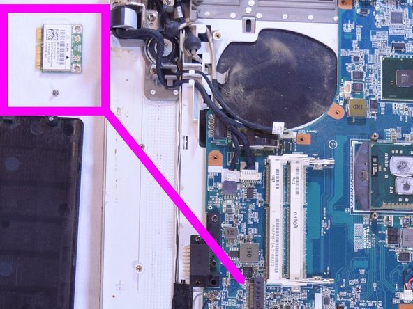 Sony Vaio PCG-71312l Wifi Card Replacement
