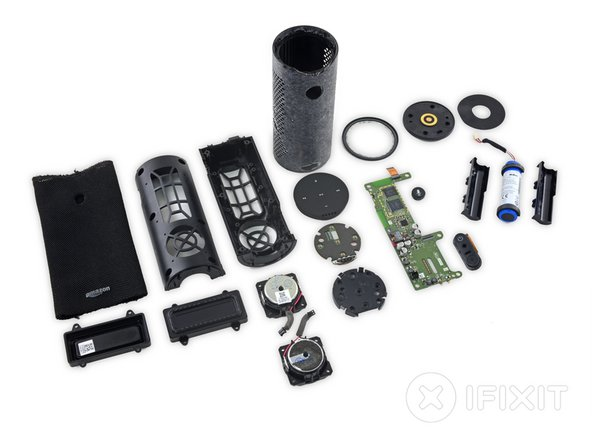 Amazon Tap Repairability Score: 7 out of 10 (10 being the easiest to repair)