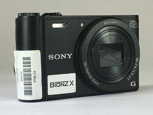 Sony Cyber-shot DSC WX350 Troubleshooting