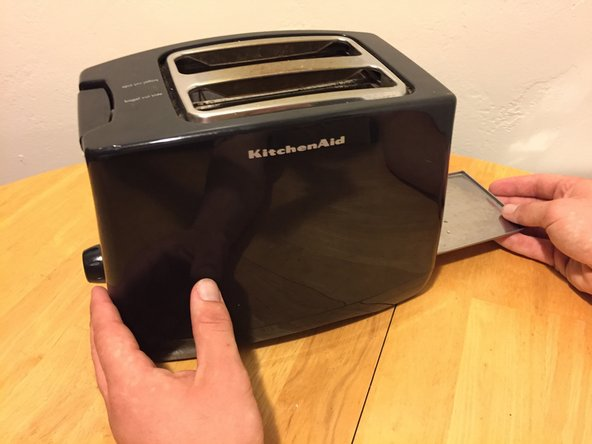 Start this fix by making sure the toaster is unplugged.
