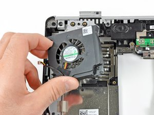 Dell Inspiron 1525 Fan Replacement