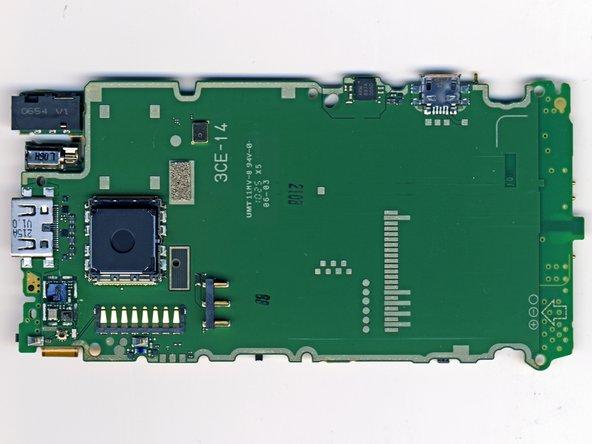 Image 2/2: Samsung K5W4G2GACA - AL54 (CPU + DDR RAM + NAND ROM)