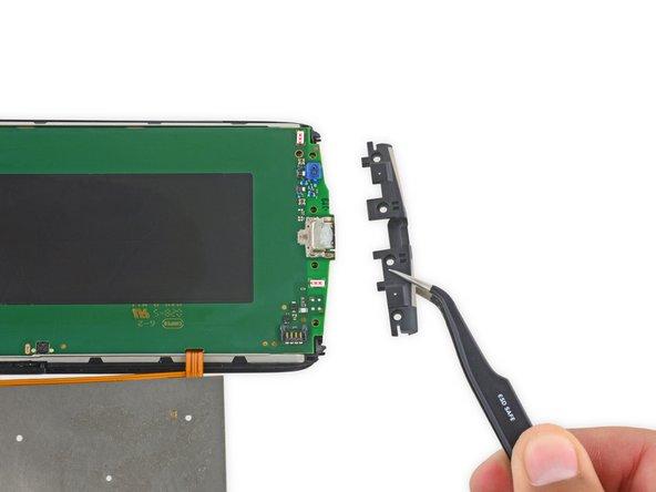 Remove the lower antenna board.