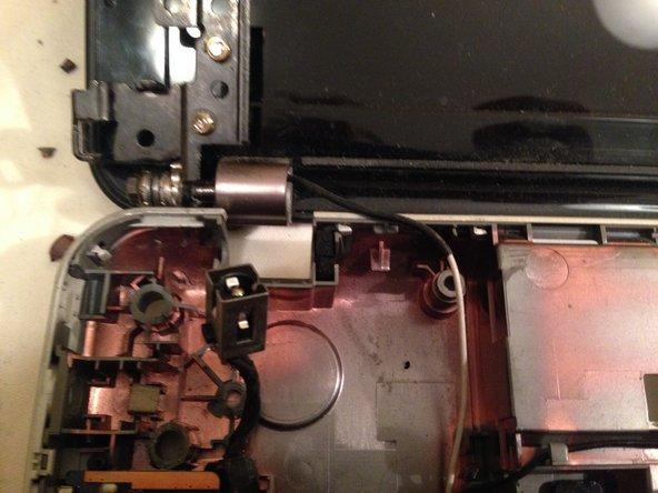 Repairing the broken hinge [detailed photo]