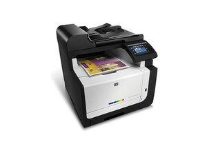 HP LaserJet CM1415fnw