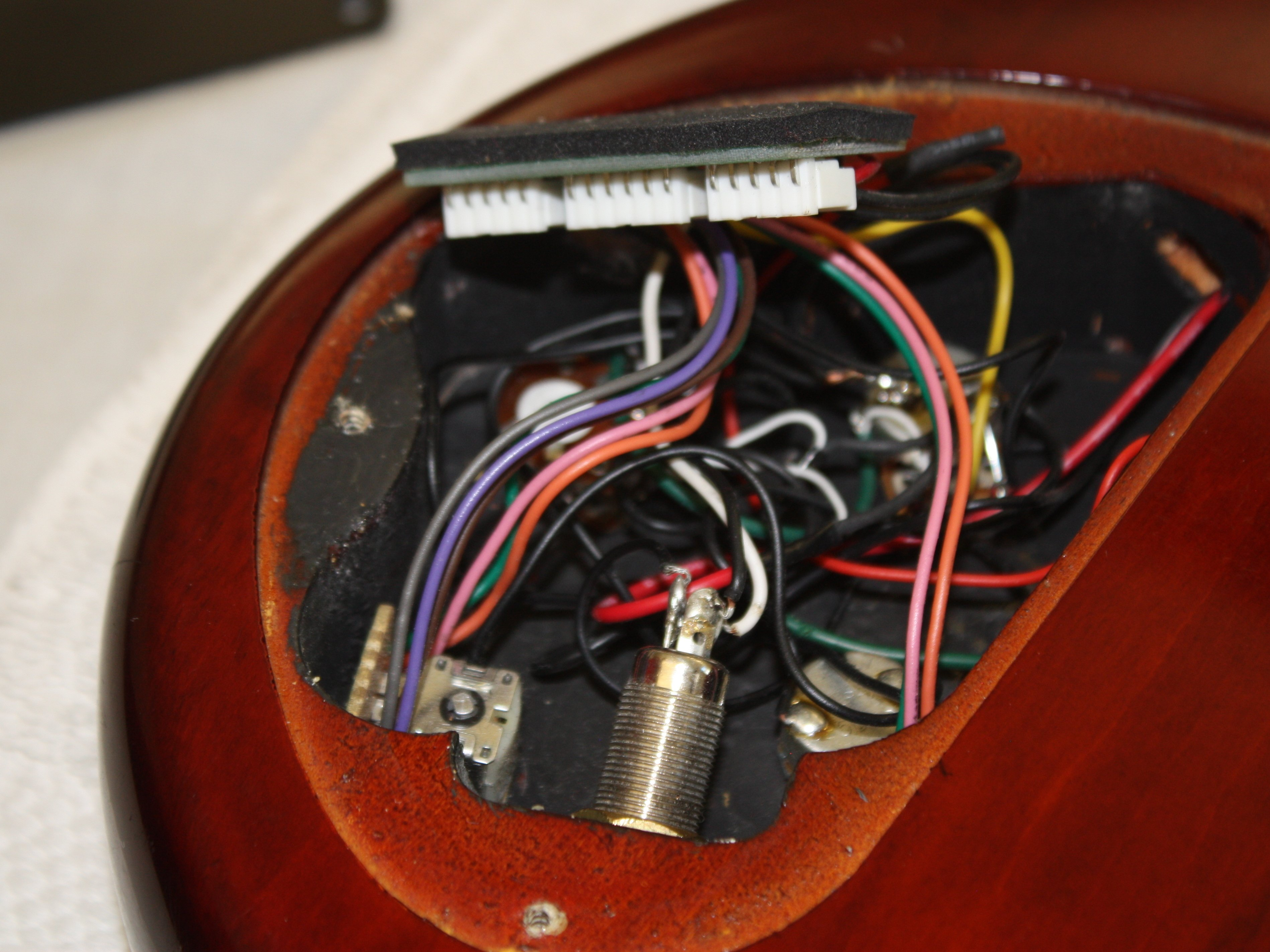 ibanez 5 string bass model sr405qm output jack replacement ifixit Microphone Wiring ibanez 5 string bass model sr405qm output jack replacement