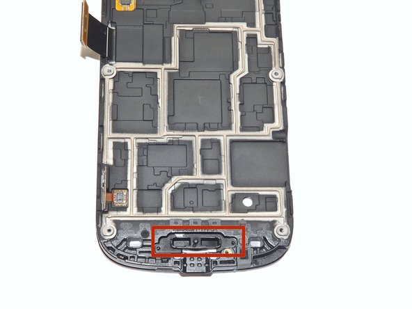 Choose the motherboard side that contains the home button, as shown in the image.