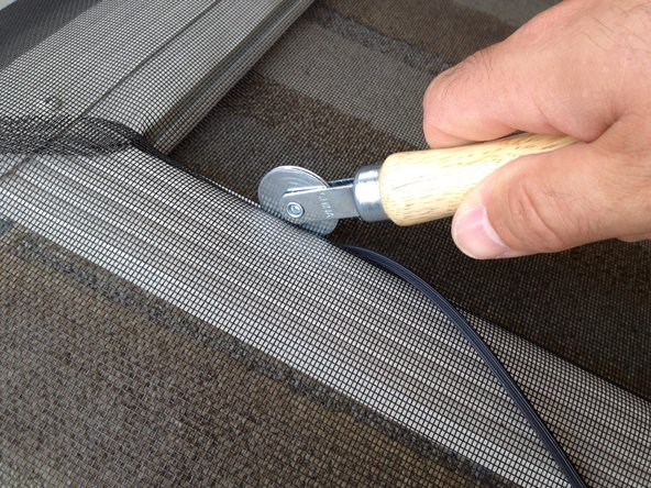 Screen Door Mesh Replacement