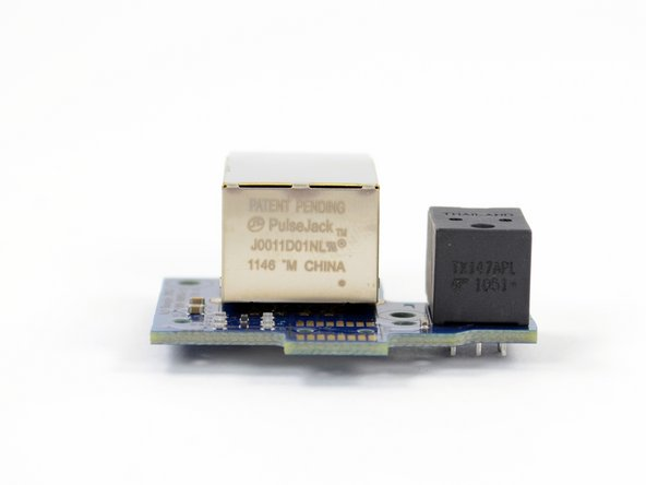Image 3/3: The ethernet port is labeled as a PulseJack J0011D0NL (manufactured in China).