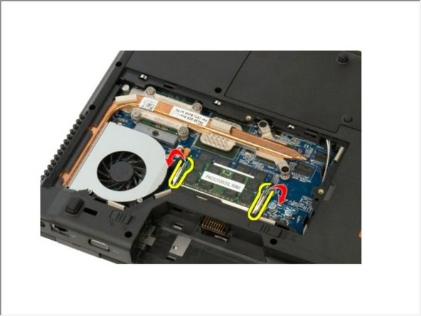 Dell Vostro 1520 Memory Module Replacement