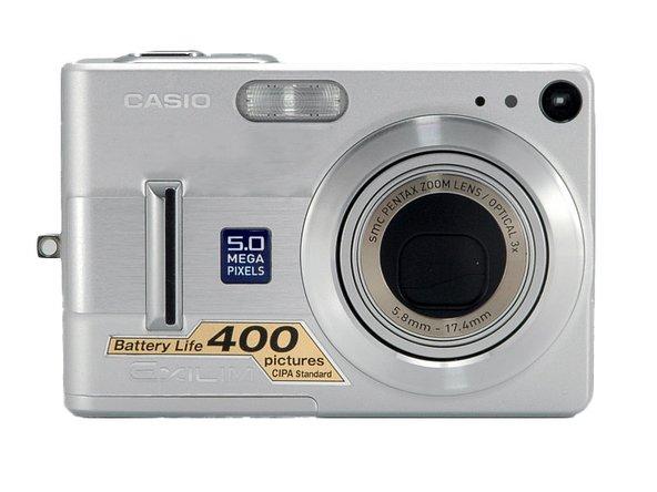 Casio EX Z55 - EXILIM Digital Camera Manuals