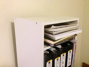 How To Fix Overused Holes In Book Shelves