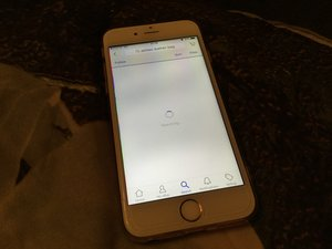 SOLVED: Screen had white shadows after replacement - iPhone