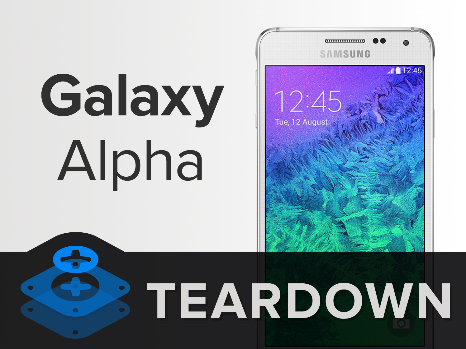 Samsung Galaxy Alpha Teardown Ifixit G850
