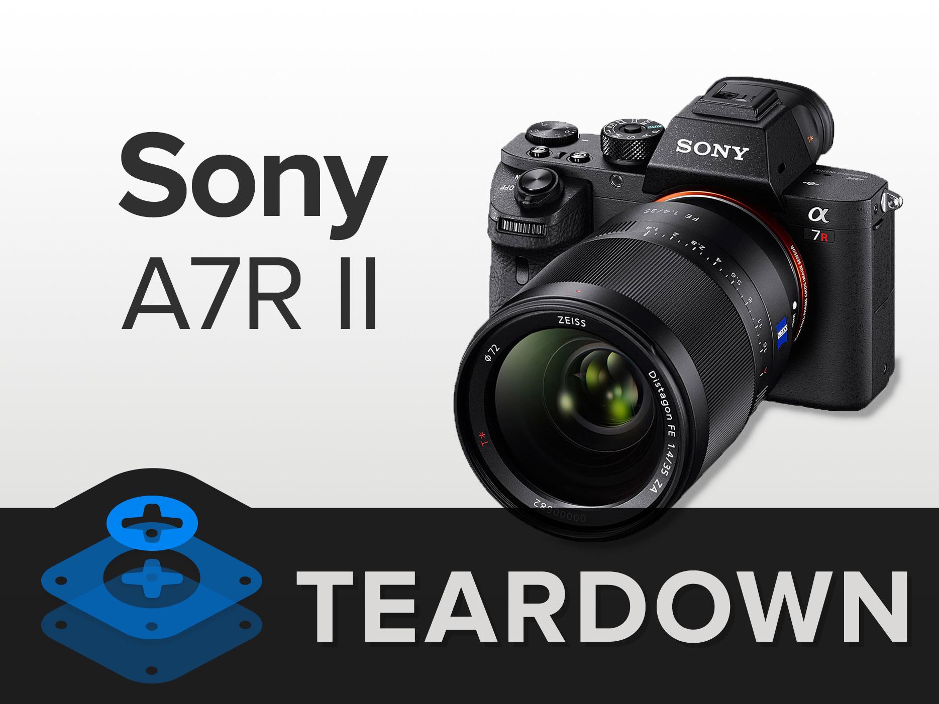 Sony A7r Ii Teardown Ifixit Diagram Of A Dslr Camera Digital Block