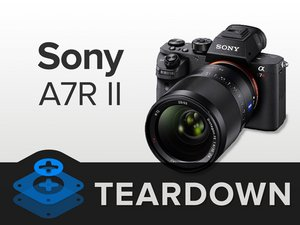 Sony a7R II Teardown