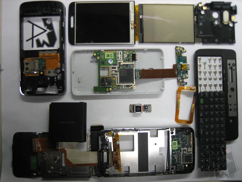 htc touch pro cdma teardown ifixit rh ifixit com Phone HTC Diamond Touch Touch Screen HTC Diamond 2
