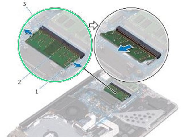 Dell Inspiron 15 5565 Memory Modules Replacement