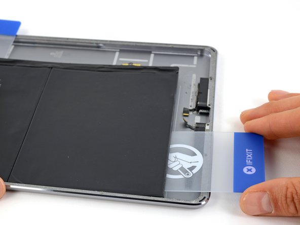 Image 1/3: If the battery begins to bend, use an iOpener to apply heat to the back of the battery and repeat the previous two steps to adequately break up the battery adhesive.