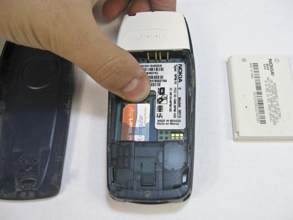 Nokia 6010 SIM Card Replacement