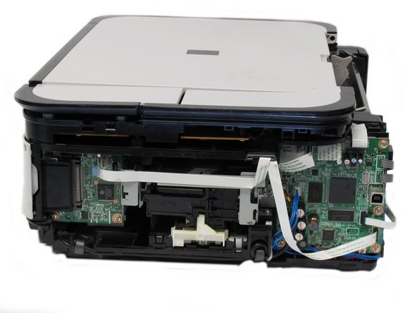 Disassembling Canon Pixma MP480 Rear and Side Panel