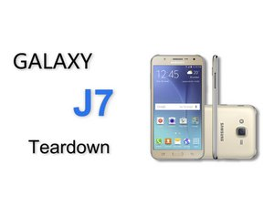 Samsung Galaxy J7 Teardown (video)