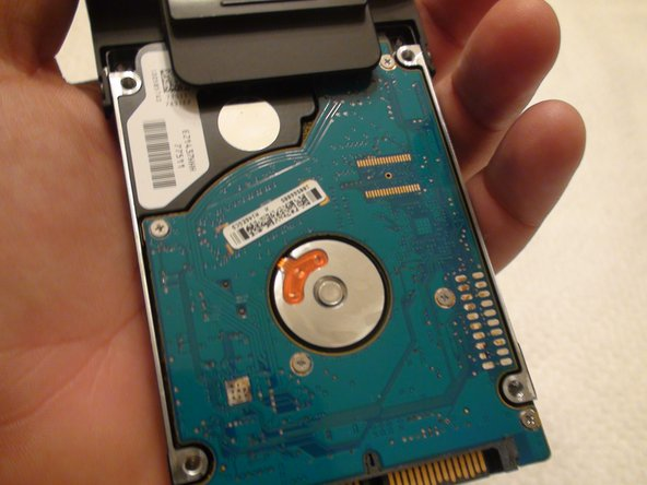 Dell Inspiron 1521 Hard Drive Replacement