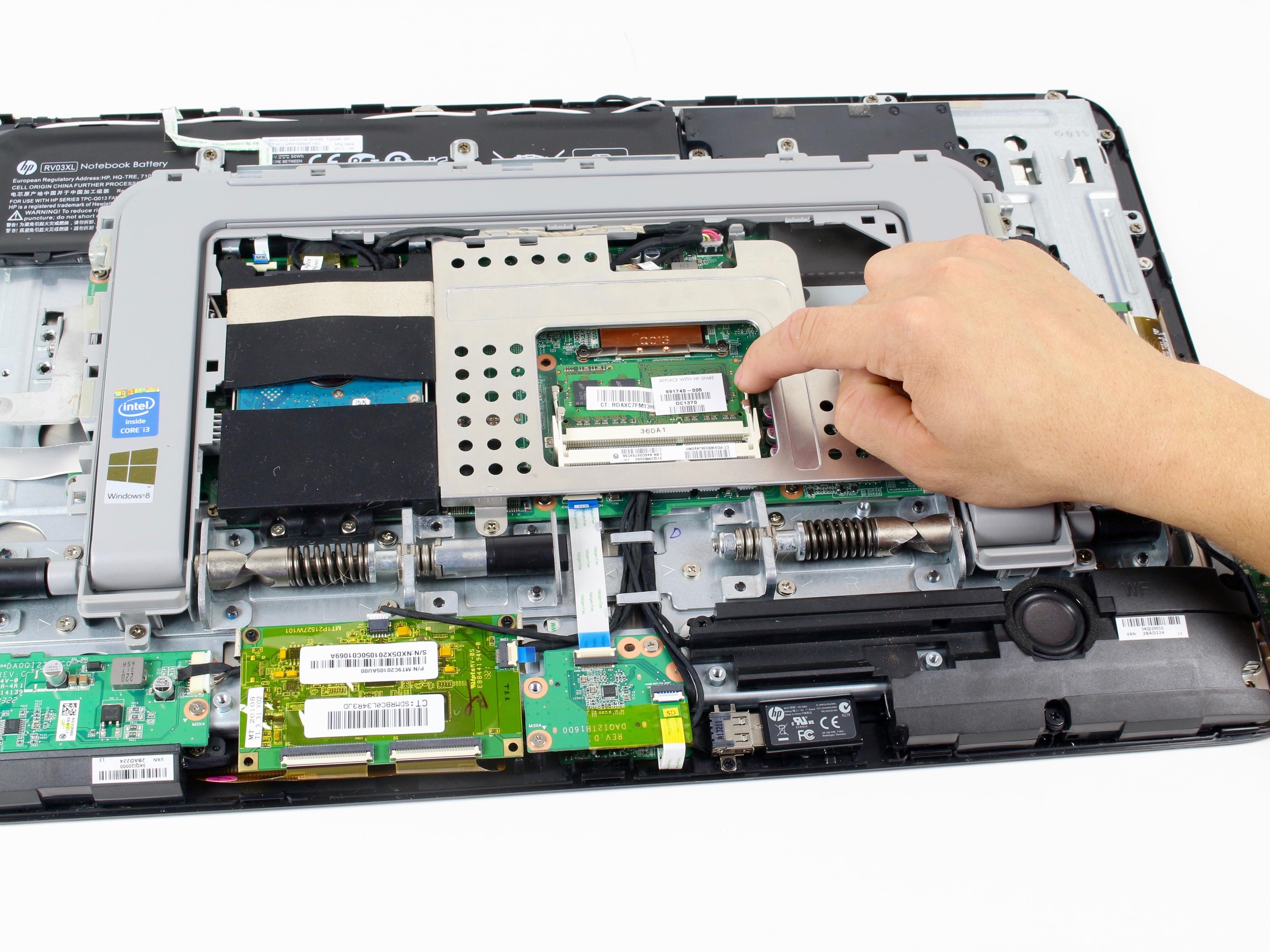 hp envy rove 20 k014us ram replacement ifixit repair guide