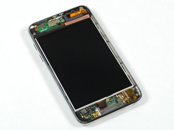 The bare LCD display.
