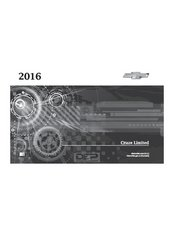 2016 Chevrolet Cruze Owner's Manual