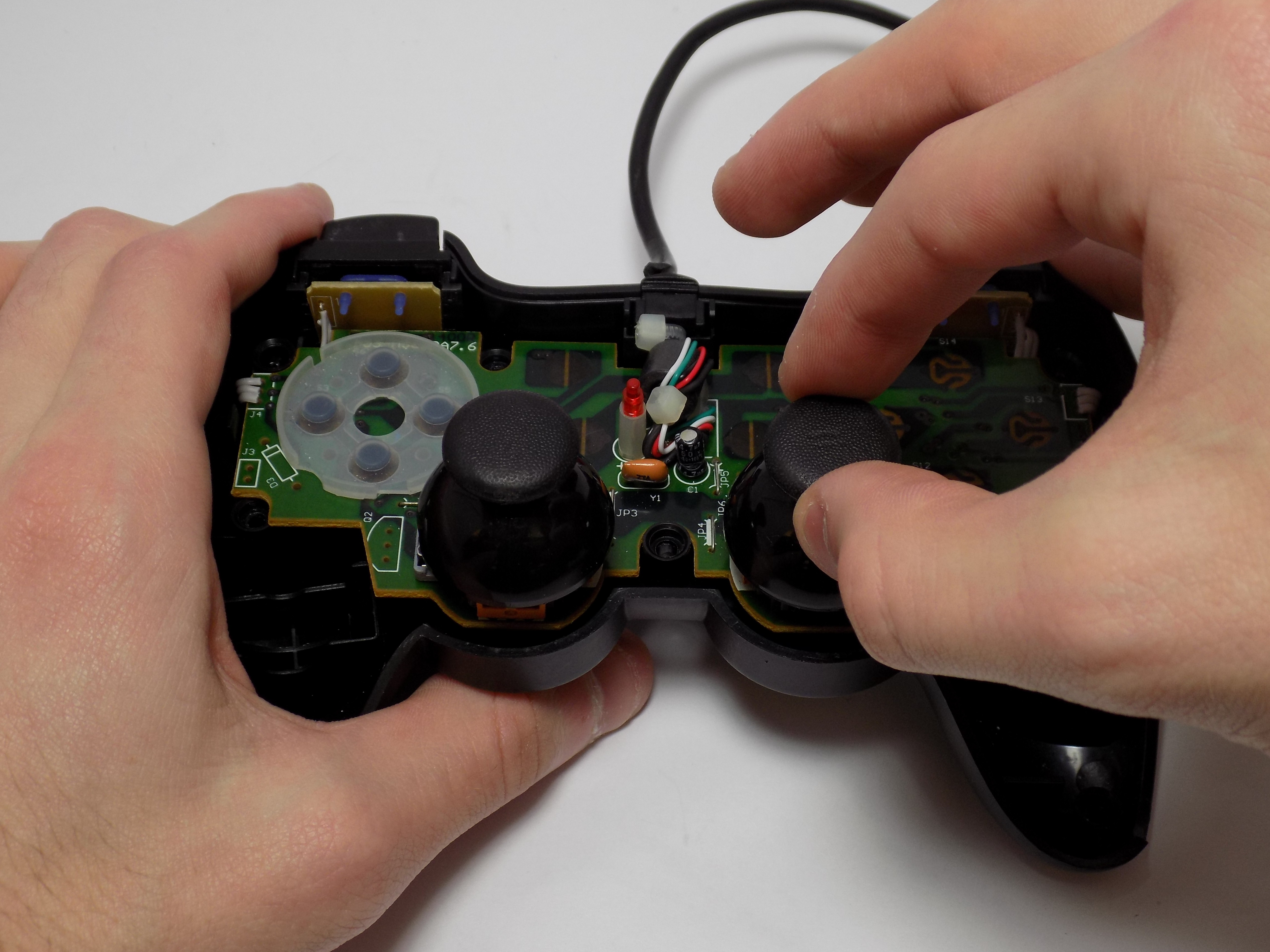 Logitech Dual Action Repair iFixit – Logitech Ps 2 Controller Wire Diagram Schematics