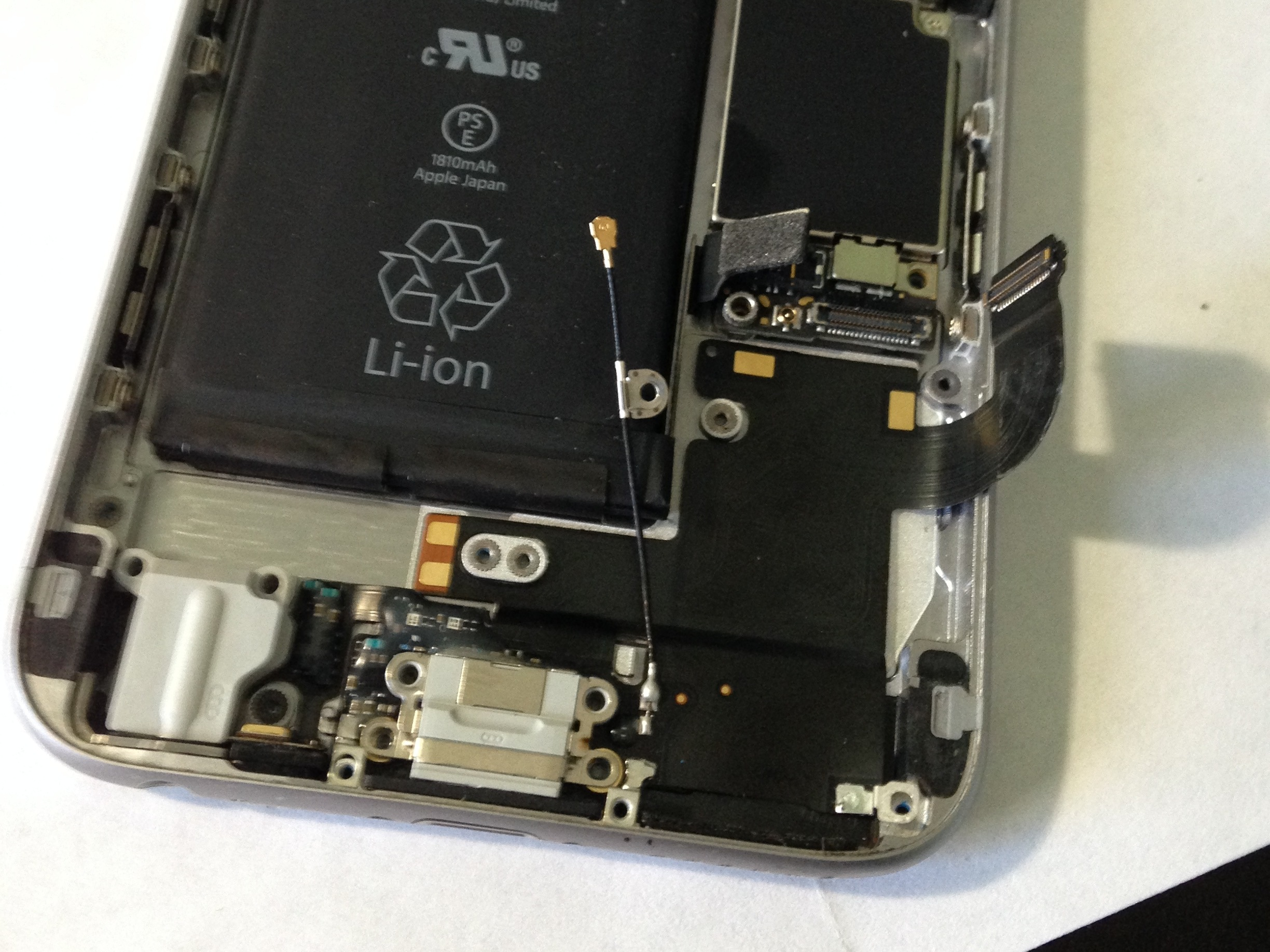 iphone charging port loose iphone 6 not charging charge port ifixit 1960