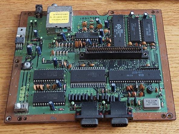 Sega Master System II Motherboard Replacement