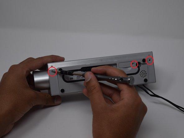 Sony Dream Machine ICF-C717PJ Antenna Replacement